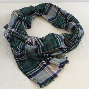 Accessories - It's In the Details Plaid Blanket Scarf